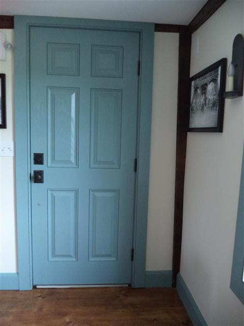 In Some Houses, There Is An Inner Door And An Outer Door. The Inner Door  Could Be Taken Down And Used In Different Ways: A Platform Upon Which To  Put The ...