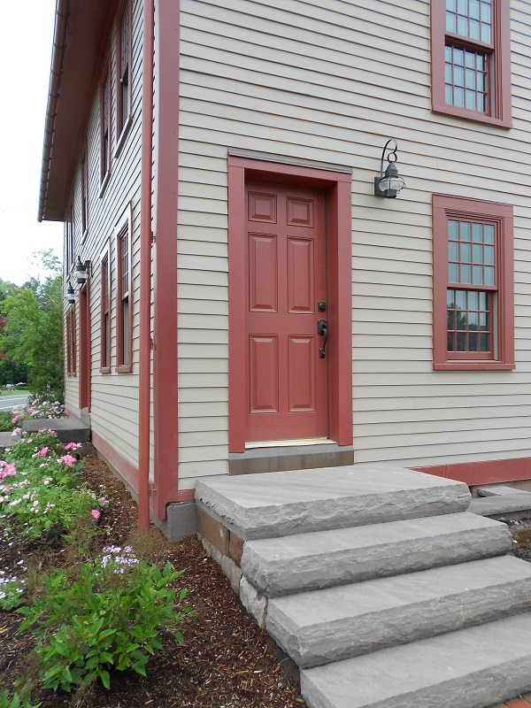 Many colonial homes in New England have a feature called the Coffin Door. This door had only one function allow easy access to the front parlor ... & Coffin Door u2013 east windsor history