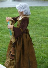 kid colonial dress